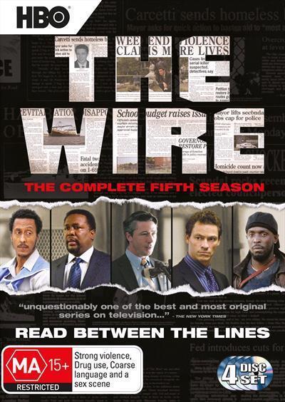 The Wire: Season5(DVD)