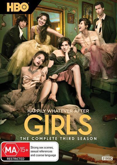 Girls: The Complete ThirdSeason(DVD)