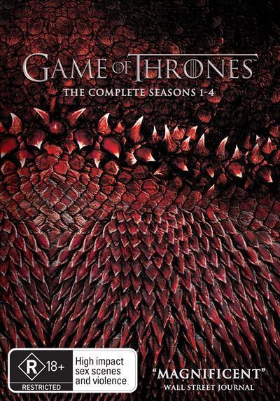 Game of Thrones: Season 1-4 Box-set (DVD)