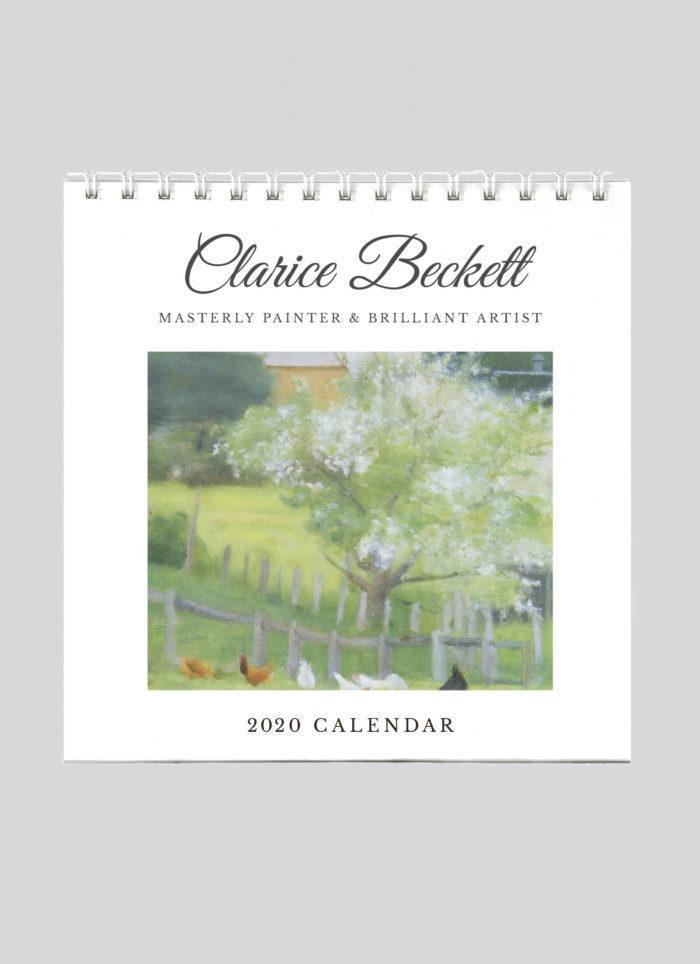 Clarice Beckett 2020DeskCalendar