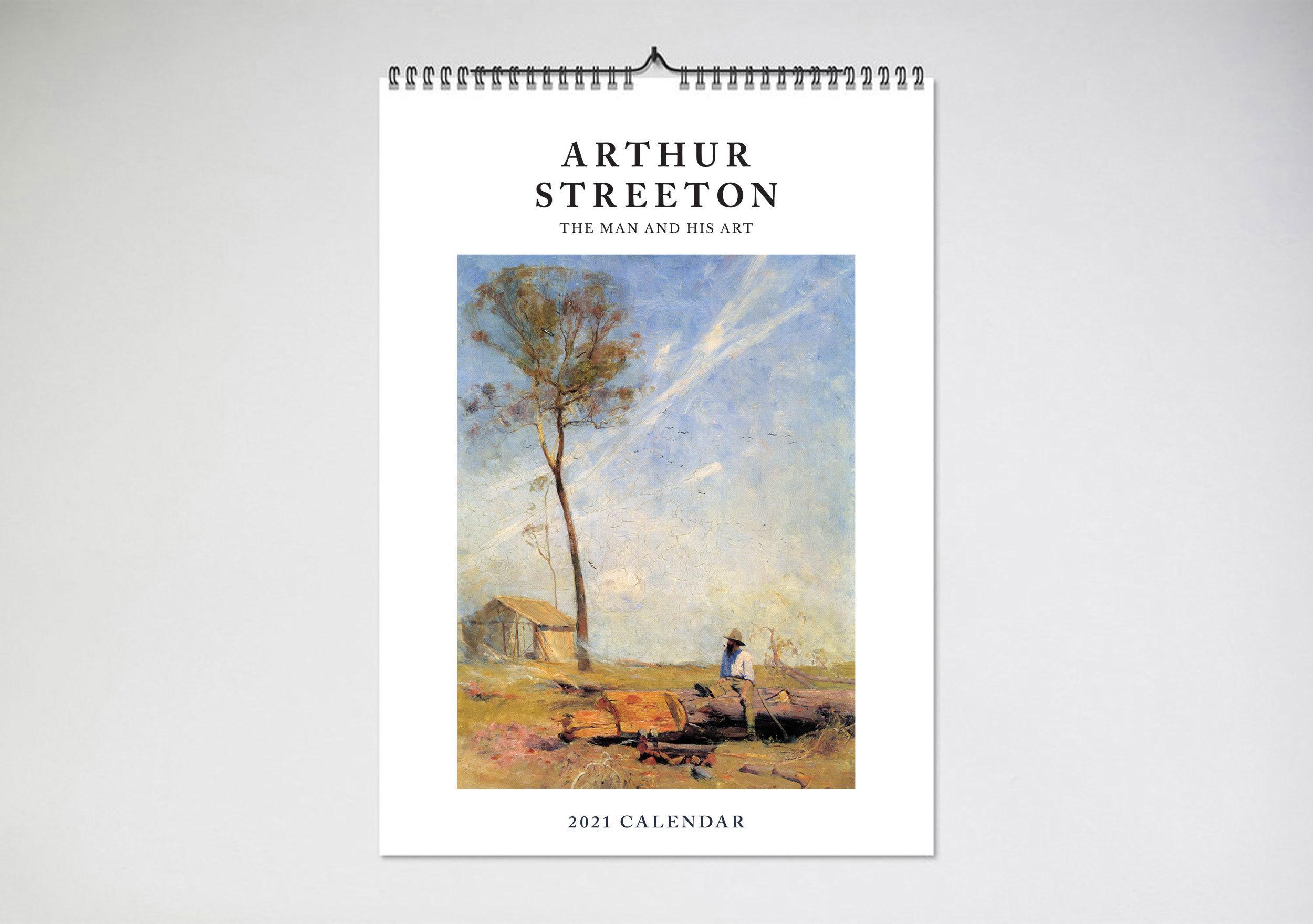 Arthur Streeton2021Calendar