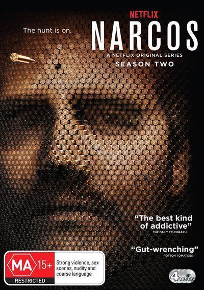 Narcos: Season2(DVD)