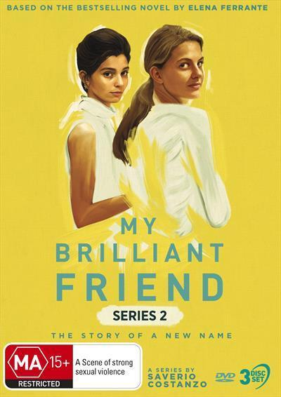 My Brilliant Friend: The Story of a New Name (Series 2) (DVD)