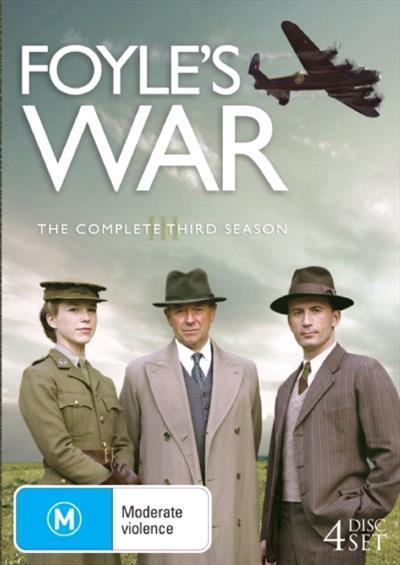 Foyles War Season Three Dvd by Michael Kitchen