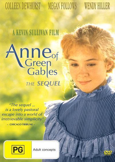 Anne Of Green Gables TheSequelDvd