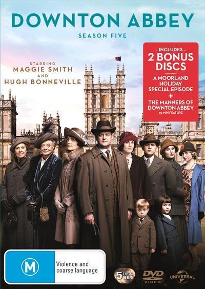 Downton Abbey: Season5(DVD)