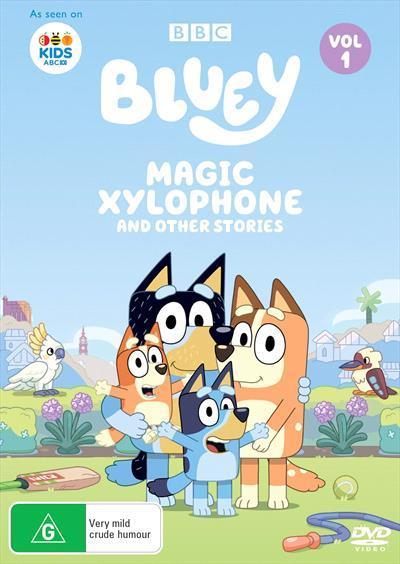 Bluey: Magic Xylophone And Other Stories Volume1(DVD)