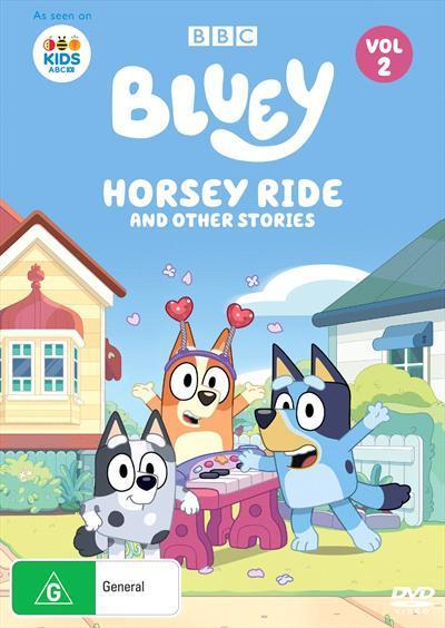Bluey: Horsey Ride and other stories, Volume 2 (DVD)