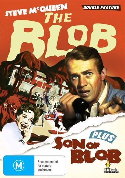 Blob & Son Of The Blob Dvd
