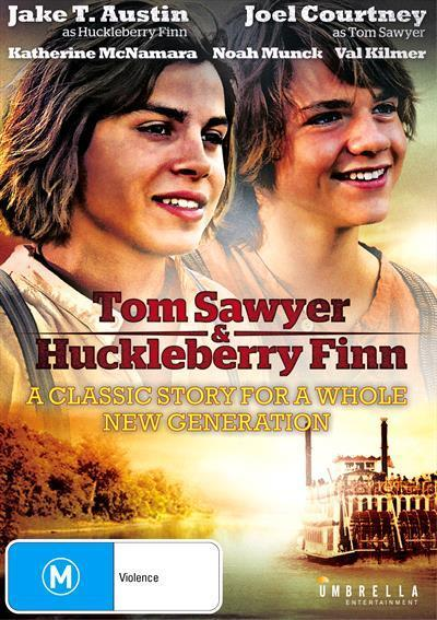 tom sawyer and huckleberry finn dvd by kastner jo katherine mcnamara jake t austin joel. Black Bedroom Furniture Sets. Home Design Ideas