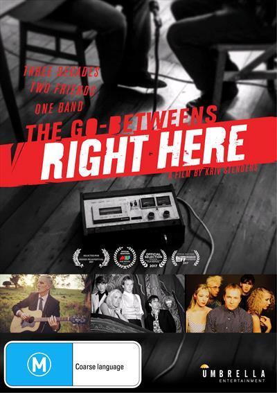 The Go-Betweens - Right Here (DVD)