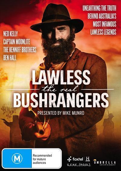 Lawless The Real Bushrangers Dvd