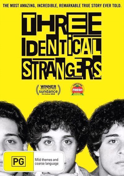 Three IdenticalStrangers(DVD)