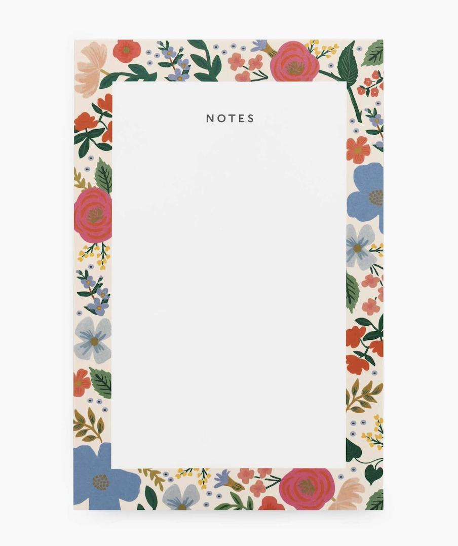 Rifle Paper Co - Notepad -WildRose