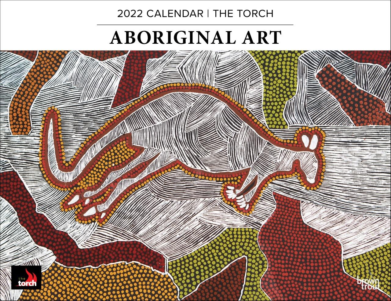 Aboriginal Art 2022 Horizontal Calendar