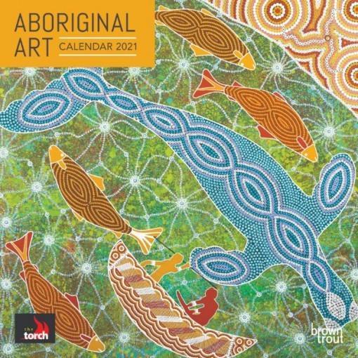 Aboriginal Art Brush Dance2021Calendar