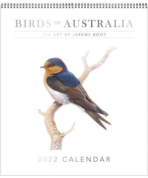 Birds of Australia: The Art of Jeremy Boot 2022 Calendar