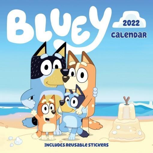 Bluey 2022 Calendar