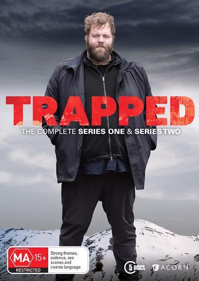 Trapped: The Complete Series 1 and 2 (DVD)