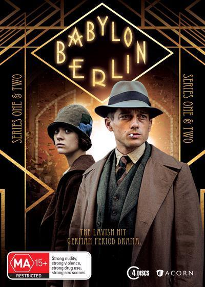 Babylon Berlin: Series 1 &2(DVD)