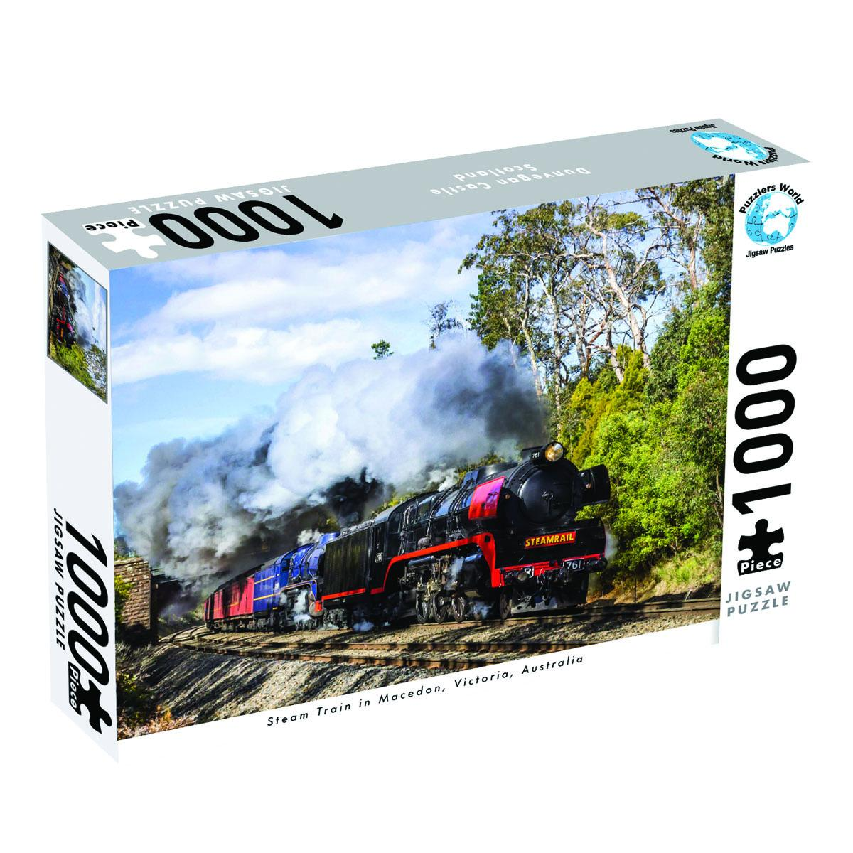 Steam Train Victoria 1000 Piece Jigsaw Puzzle