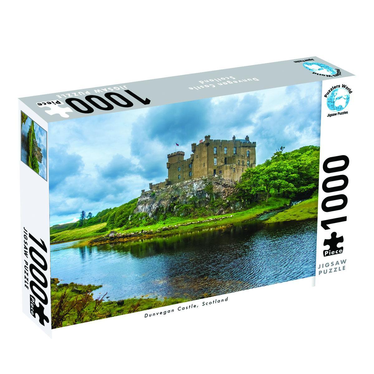 Dunvegan Castle Scotland 1000 PieceJigsawPuzzle