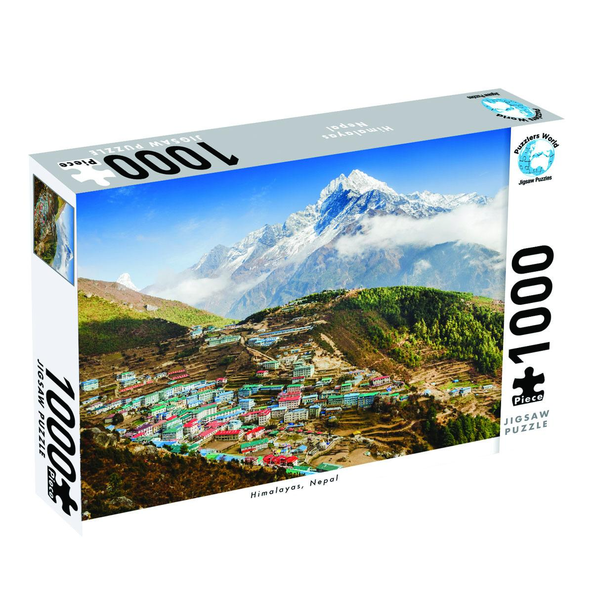 Himalayas Nepal 1000 PieceJigsawPuzzle