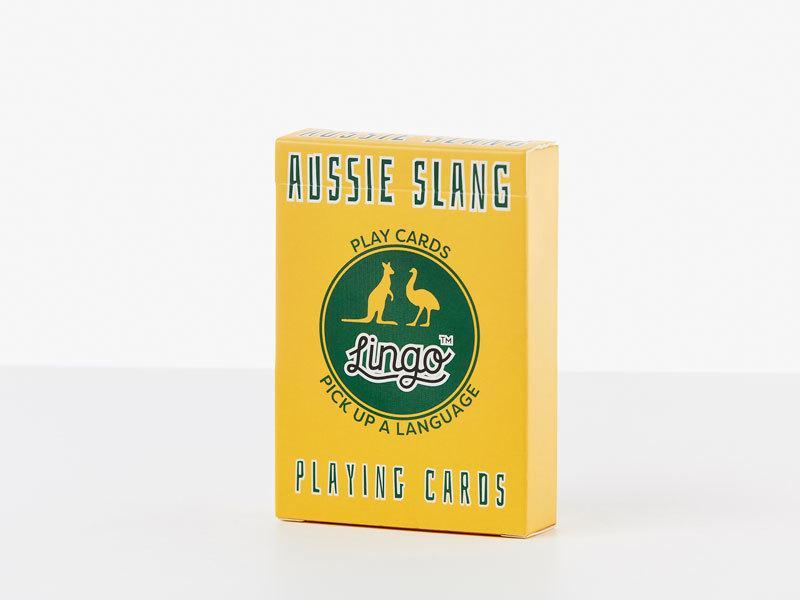 Aussie SlangPlayingCards