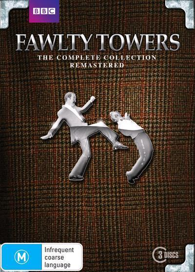 Fawlty Towers Complete CollectionRemastered(DVD)