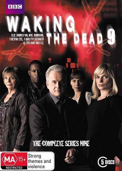 Waking The Dead Series 9 Dvd by Trevor Eve, Sue Johnston, Holly Aird,  Claire Goose, Wil Johnson