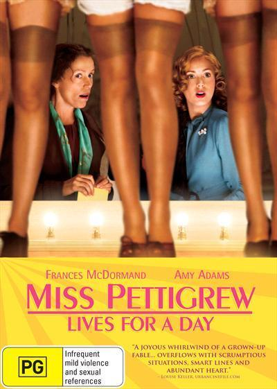 Miss Pettigrew Lives For A Day Dvd