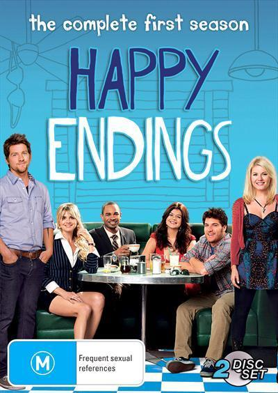 Happy Endings Season 1 Dvd