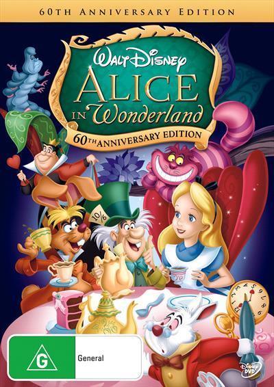 Alice In Wonderland 60th AnniversaryDvd