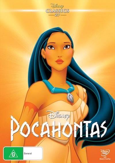 Pocahontas Disney Dvd