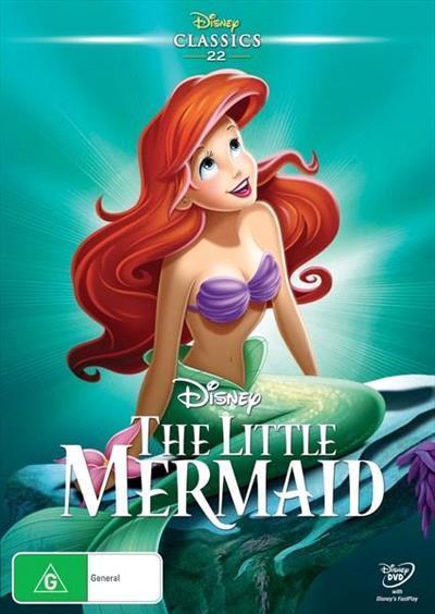 Little MermaidDisneyDvd