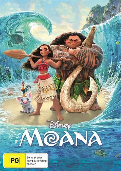 Moana(DVD)