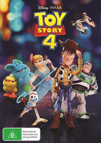Toy Story4Dvd