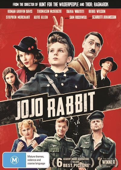 Jojo Rabbit Dvd By Readings Com Au