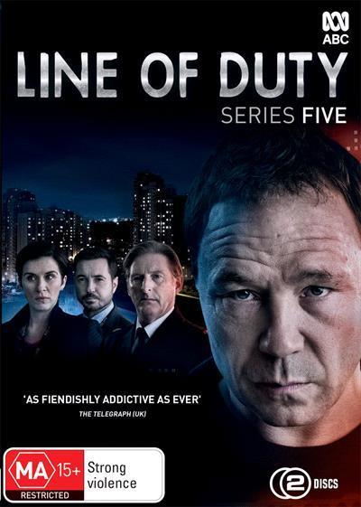 Line of Duty: Series 5 (DVD)