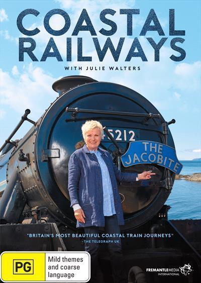Coastal Railways with JulieWalters(DVD)