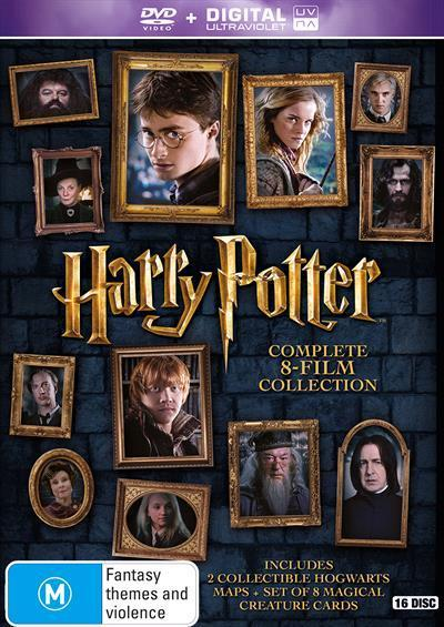 Harry Potter: Complete 8-Film Collection (Special Limited Edition) (DVD)