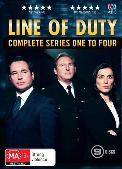 Line of Duty: Seasons 1-4 (DVD)