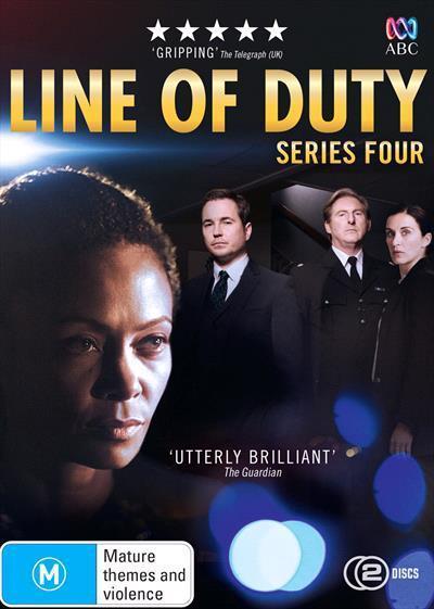 Line Of Duty: Series4(DVD)