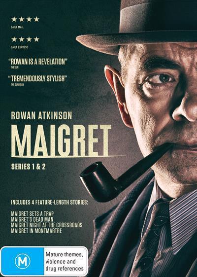 Maigret: Season 1 & 2Box-set(DVD)