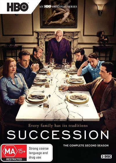 Succession: Season 2 (DVD)