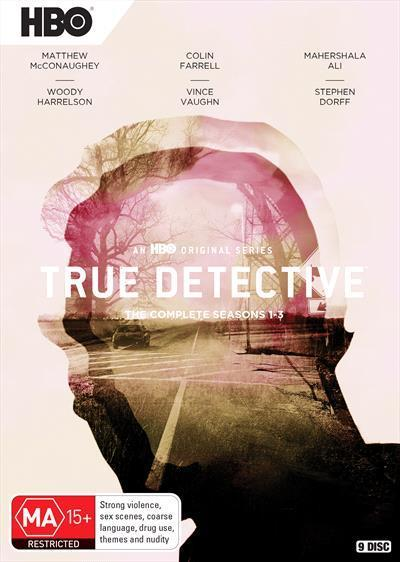 True Detective: Season1-3(DVD)