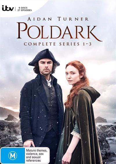 Poldark: Series 1-3 (DVD)