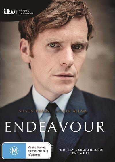 Endeavour: Season 1-5Box-set(DVD)