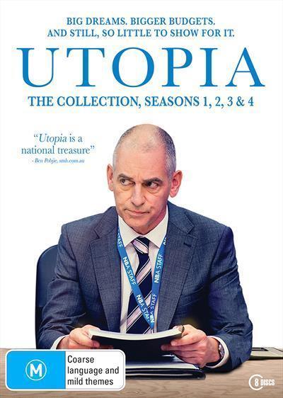 Utopia: Season 1-4Box-set(DVD)