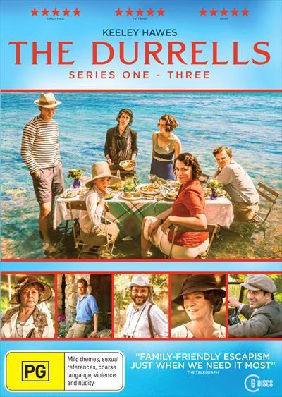 The Durrells: Season 1-3 Box-set (DVD)